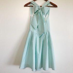 NWT Lauren James Livingston Seersucker Midi Dress